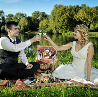 Karolina & Piotr - sesja w parku